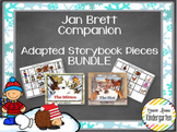 The Mitten & The Hat Jan Brett Companion - Adapted Story Book Pieces BUNDLE