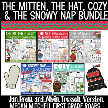 The Mitten The Hat The Snowy Nap & The Mitten by Tresselt | Distance Learning