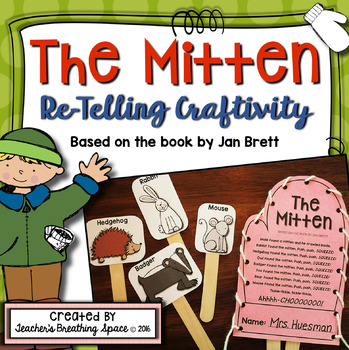 The Mitten --- Retelling Craftivity and Poem
