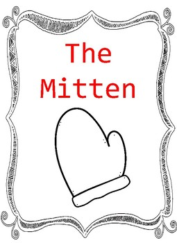 The Mitten Themed Unit for Speech Lessons