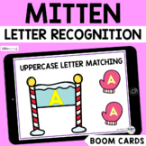 The Mitten Uppercase Letter Matching : Winter Letter Recog