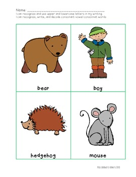 The Mitten Winter Literacy Center Activities!