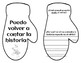 The Mitten With Writing Starters - Spanish
