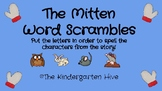 The Mitten Word Scrambles