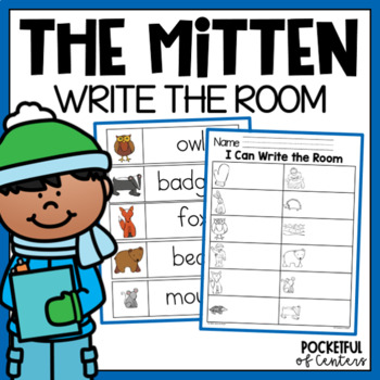The Mitten Write the Room