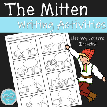 The Mitten Writing Activities and Center Ideas