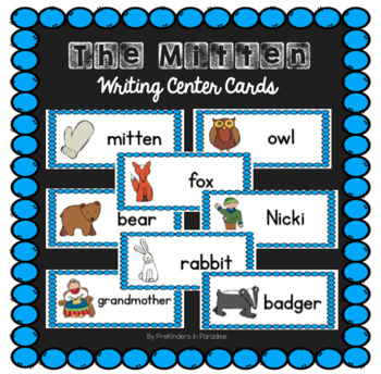 The Mitten Writing Center Cards