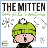 The Mitten Jan Brett | Book Study, Write the Room, Craftivity
