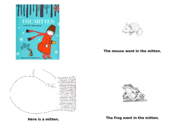 The Mitten by Alvin Tresselt Story Retelling - English and