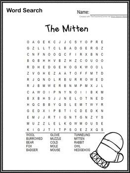 The Mitten ~ by Jan Brett