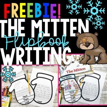 The Mitten by Jan Brett Activities Flip Book Free