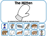 The Mitten by Jan Brett Adapted Interactive Book Special Education, Autism, SLP