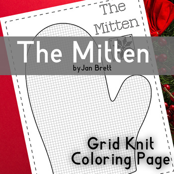 Get Printable Mittens Coloring Page