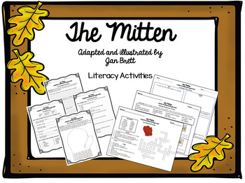 The Mitten by Jan Brett Literacy Activities