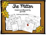 The Mitten by Jan Brett Literacy Activities
