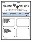 The Mitten by Jan Brett - Literacy and Math Unit