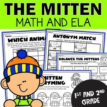 The Mitten Activities