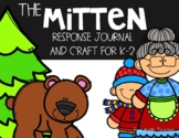 The Mitten by Jan Brett--Response Journal and Craft for K-2