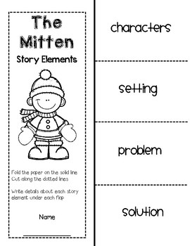 image relating to The Mitten Story Printable identified as The Mitten by means of Jan Brett Tale Pack