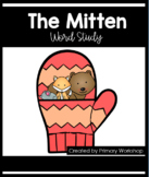 The Mitten by Jan Brett- Word Study Packet