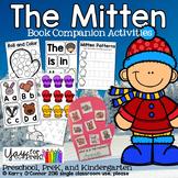 The Mitten - companion activities (preschool, prek, kindergarten)