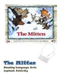 The Mitten reading file folder/lap book activity