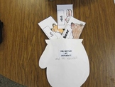 The Mitten- sequencing cards activity