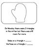 The Mitten shape book