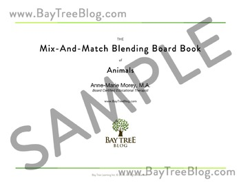 The Mix-And-Match Blending Board Book of Animals