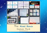 The Mixed Blends Phonics Games Pack (Letters & Sounds Phase 4)