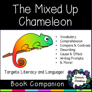 The Mixed Up Chameleon Book Companion - Speech Therapy Book Companion