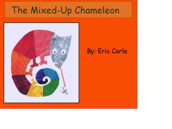 The Mixed-Up Chameleon FlipChart