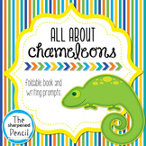 The Mixed Up Chameleon Foldable Fact Book and writing prompts