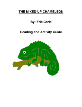 The Mixed-Up Chameleon Reading and Study Guide