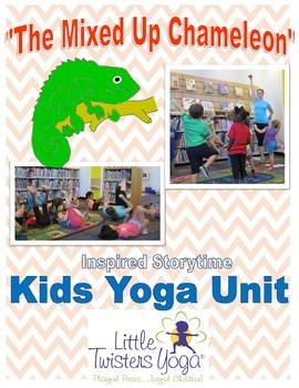 """The Mixed Up Chameleon"" Storytime Yoga Lesson Plan"