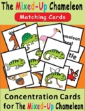 The Mixed-Up Chameleon by Eric Carle--Concentration/Memory Cards