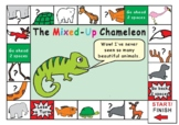 The Mixed-Up Chameleon by Eric Carle GAME BOARD