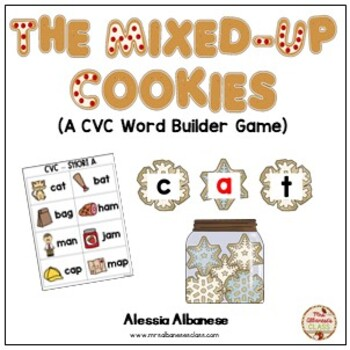 The Mixed-Up Cookies CVC Game