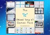The Mixed 'iː' (long e) Phonics Games Pack