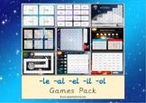 The Mixed -le -al -el -il -ol Games Pack