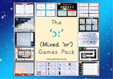 The Mixed 'or' (ɔː) Games Pack