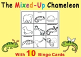The Mixed-up Chameleon by Eric Carle - Bingo Game Cards