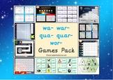 The Mixed wa- war- qua- quar- and wor- Games Pack