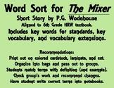 The Mixer Word Sort