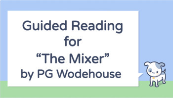 The Mixer by PG Wodehouse