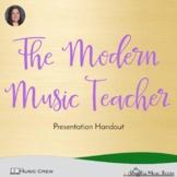 The Modern Music Teacher