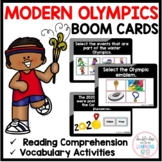 The Modern Olympic Games BOOM CARDS™ for Distance Learning