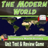 Modern World Test & Review Game | Common Core Aligned | World History