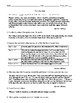 """The Moderns: """"The Worn Path"""" Worksheet (or Test) and Comprehensive Answer Sheet"""