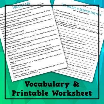 The Moldau by Bedrich Smetana Musical Lesson Plan